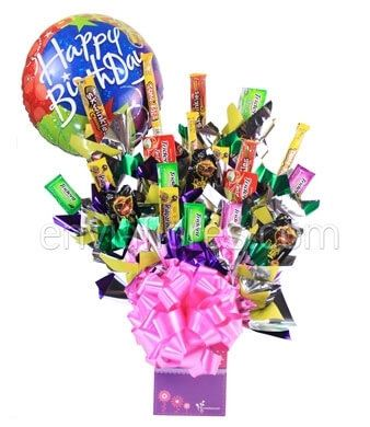 Candy Bouquet de Dulces