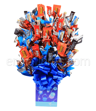 Candy Bouquet Mini Hershey's