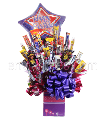 Candy Bouquet de Tamarindos y Chocolates