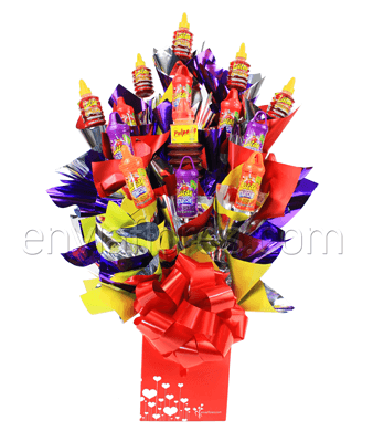 Candy Bouquet Party Lucas