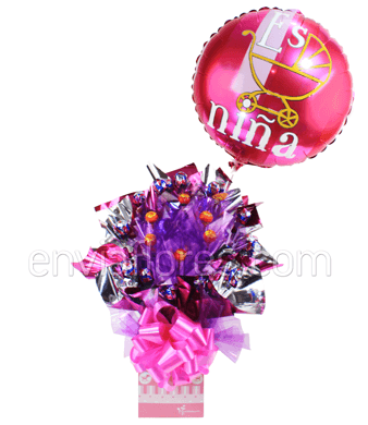 Candy Bouquet Niña Pop