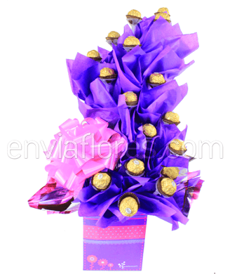 Candy Bouquet Espiral Ferrero Rocher