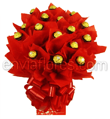 Candy Bouquet Ferrero Rocher de Amor