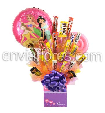 Candy Bouquet Niña de Tamarindos y Chocolates