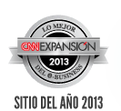 Sitio del Ano 2013 por CNN Expansion