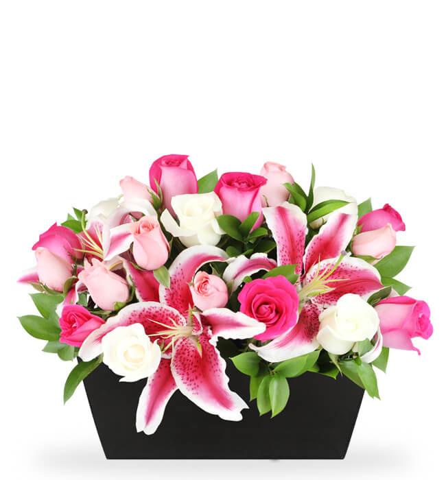 Imagen para Eres Asombrosa arreglo de 12 Rosas - 1
