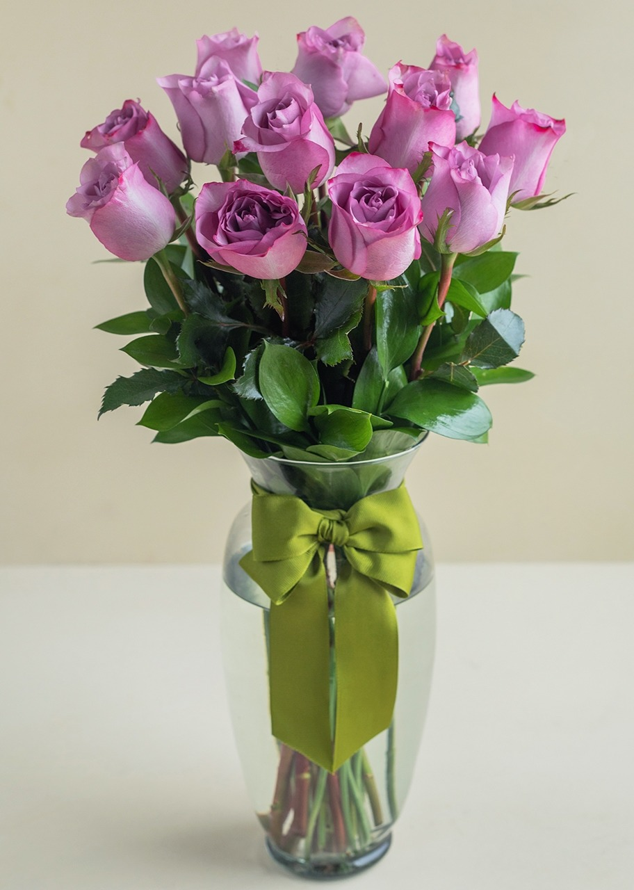 Imagen para 12 Rosas Lilas - 1