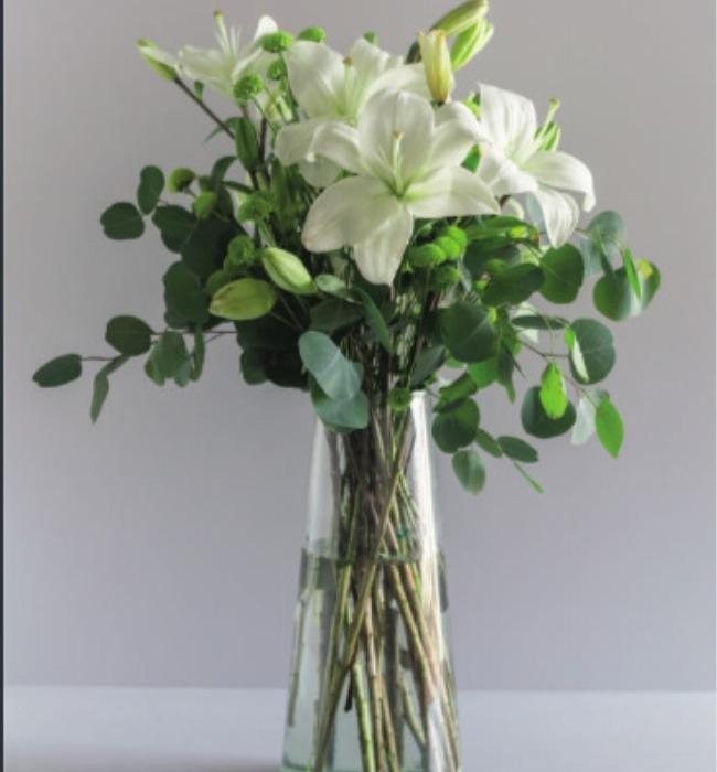 Imagen para Corporativo Grande Lily con margaritas - 1