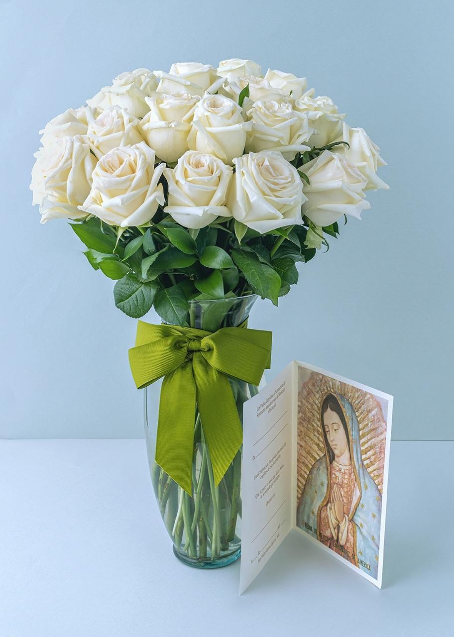 Imagen para 24 rosas blancas y dedicación de Misa - 1