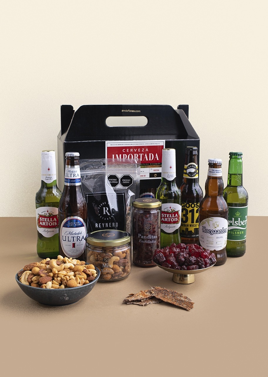 Imagen para Regalo de Cervezas Importadas con Botana - 1