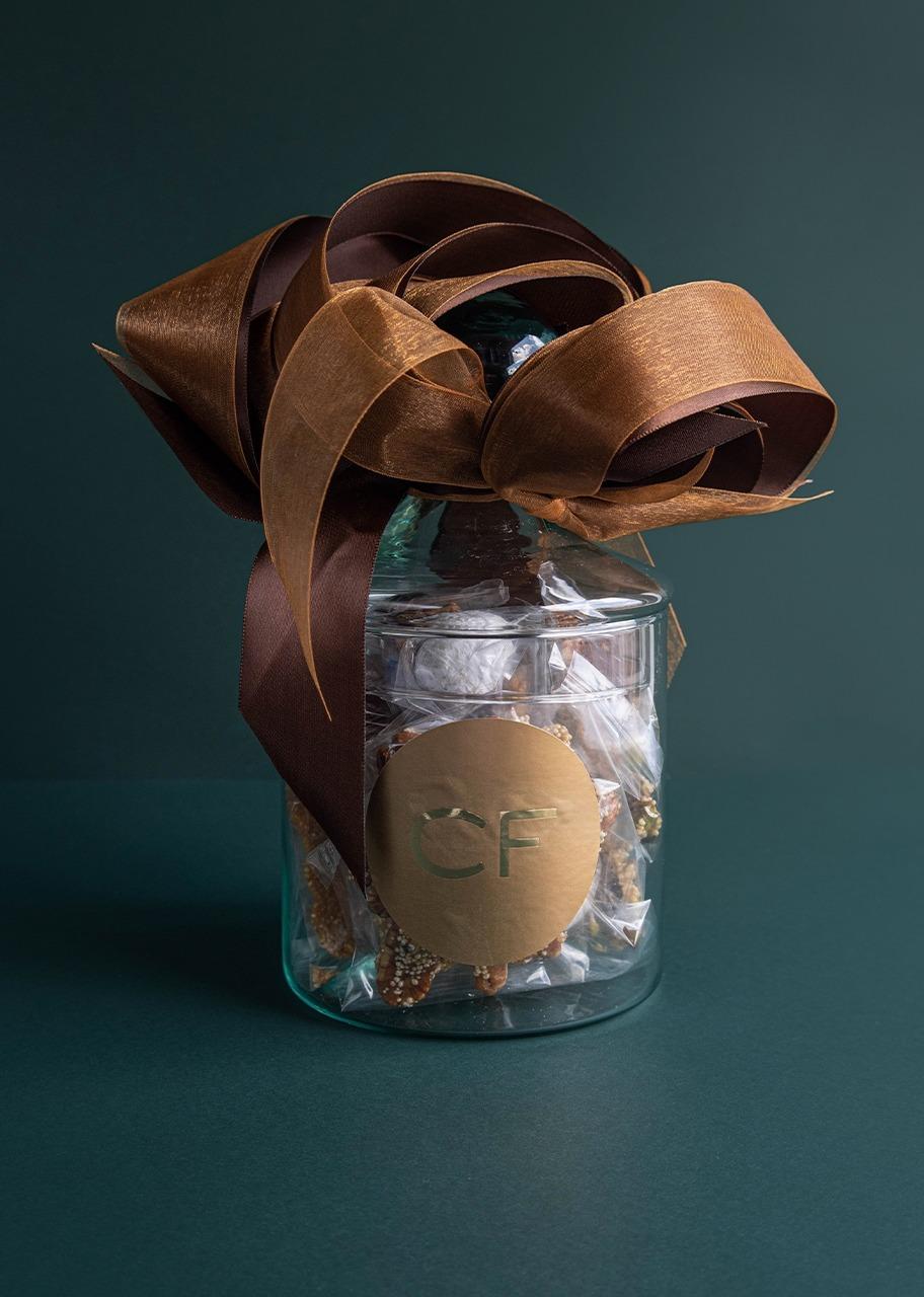 Imagen para Large Christmas Confitery Jar - 1