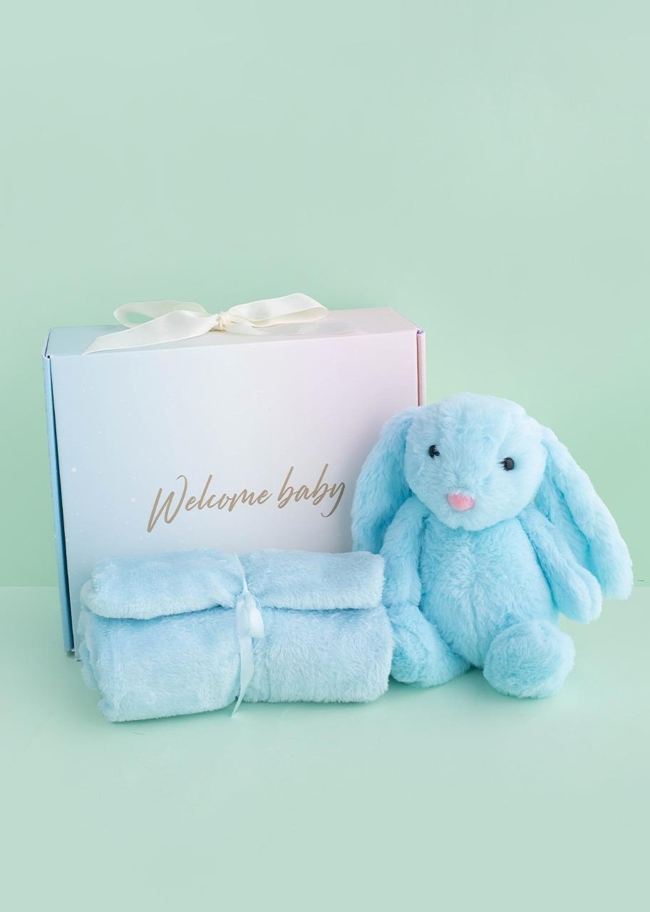 """Imagen para Caja """"Welcome Baby"""" para Niño - 1"""