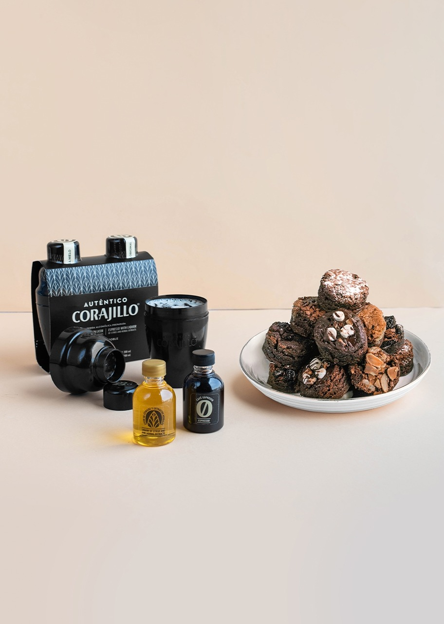 Imagen para Kit Carajillo con Brownies 8 pz - 1