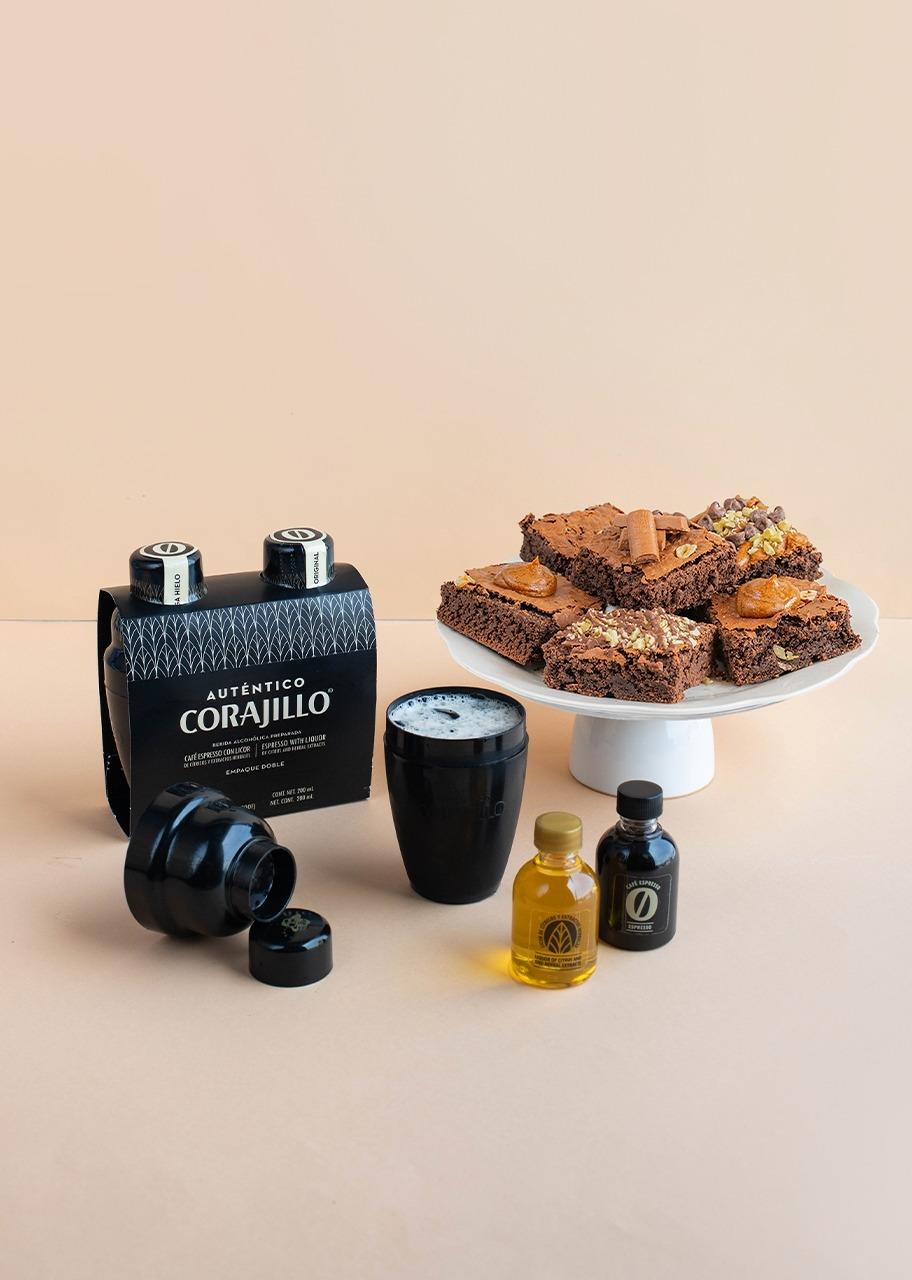 Imagen para Auténtico Corajillo con Brownies 6 pz - 1