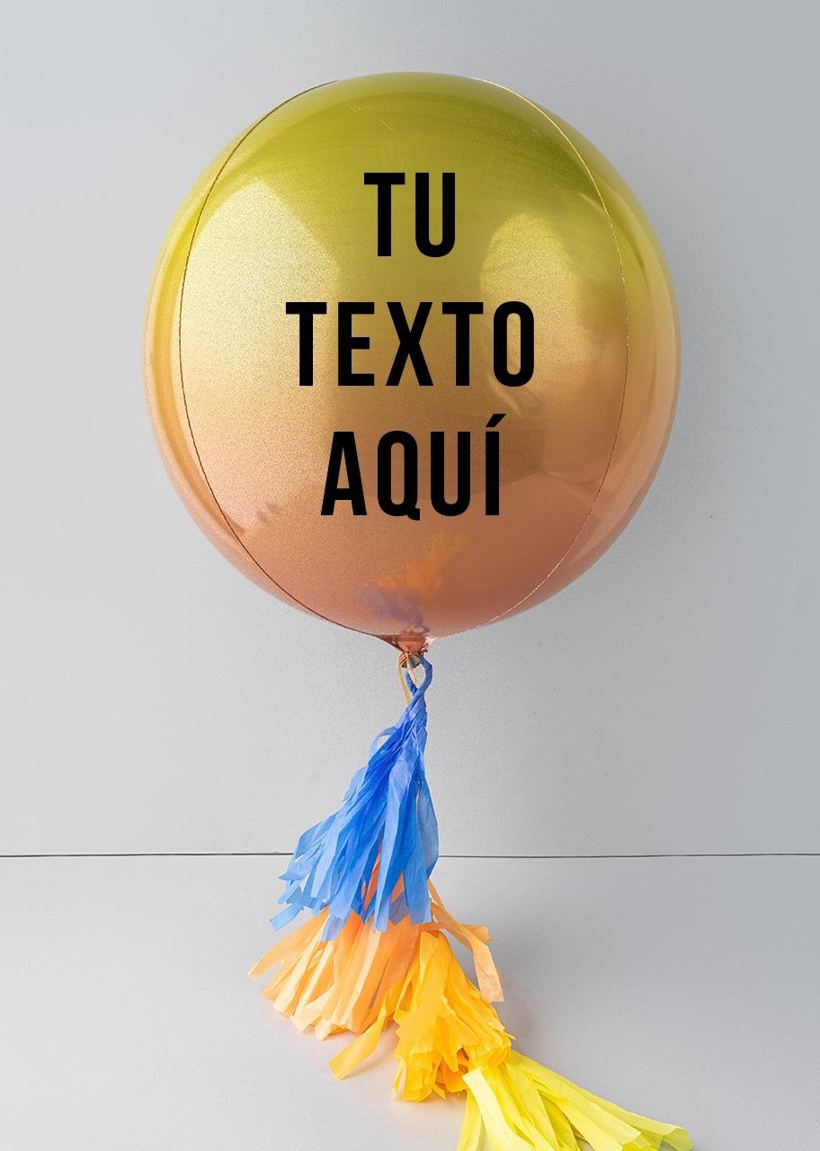 Imagen para Personaliza tu Globo Orbz Amarillo - 1