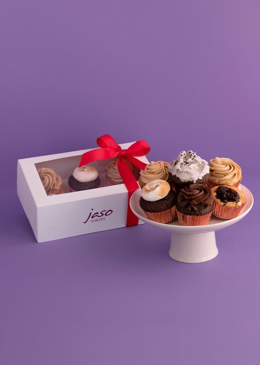 Imagen para 6 Muffins surtidos Jaso Bakery - 1