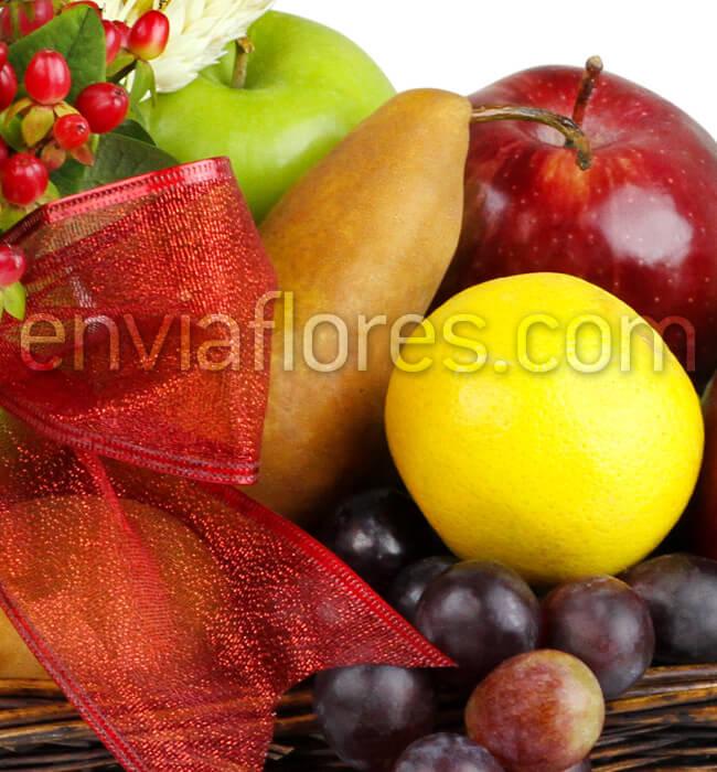 Envía Canasta De Frutas Para Regalar Enviaflorescom