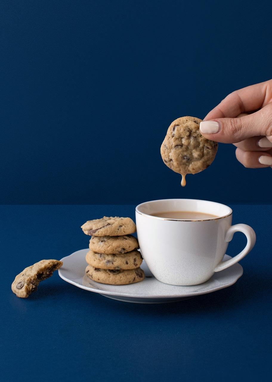 Imagen para Bote con mini galletas chocochip - 1
