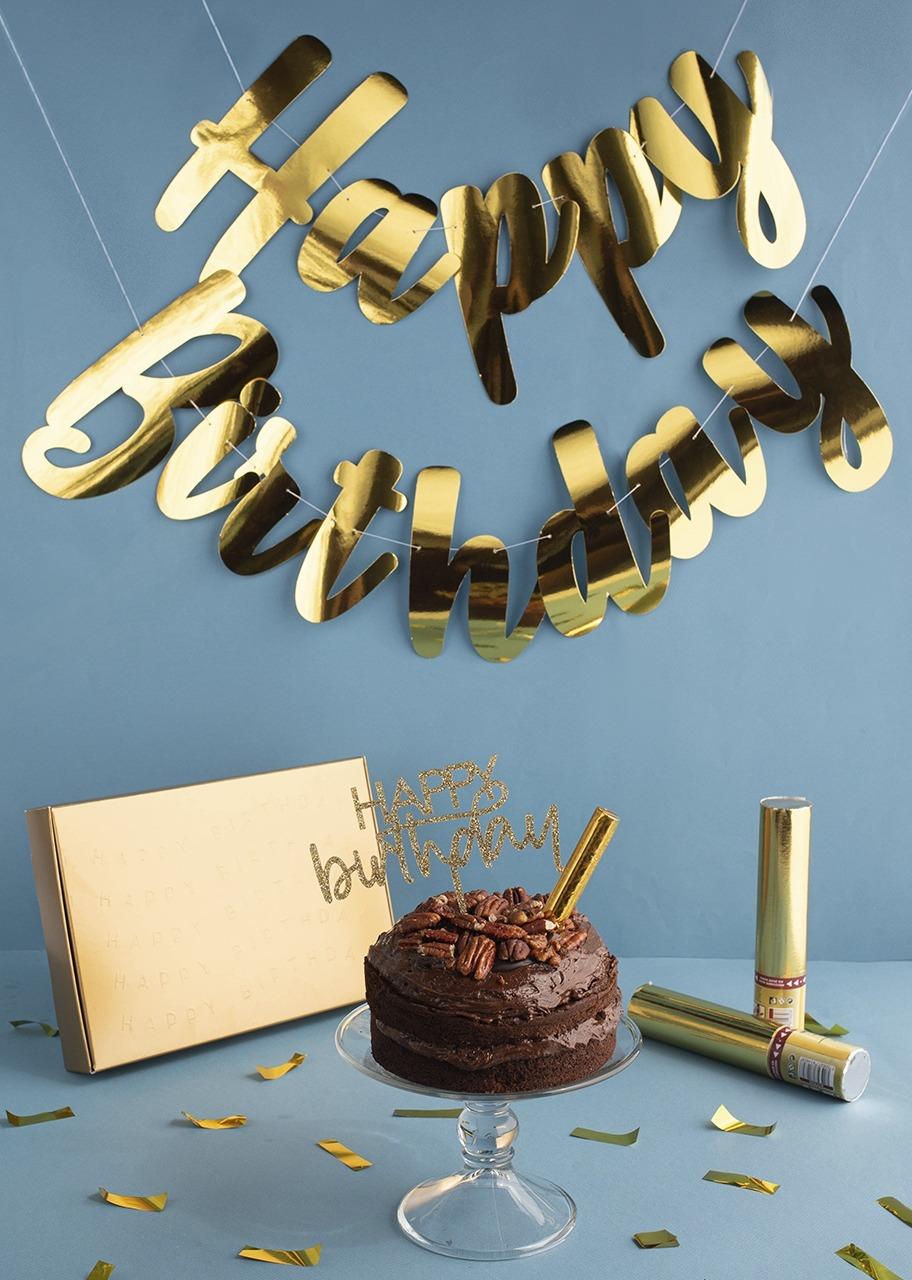Imagen para Kit Cumpleañero con Pastel Triple Chocolate - 1