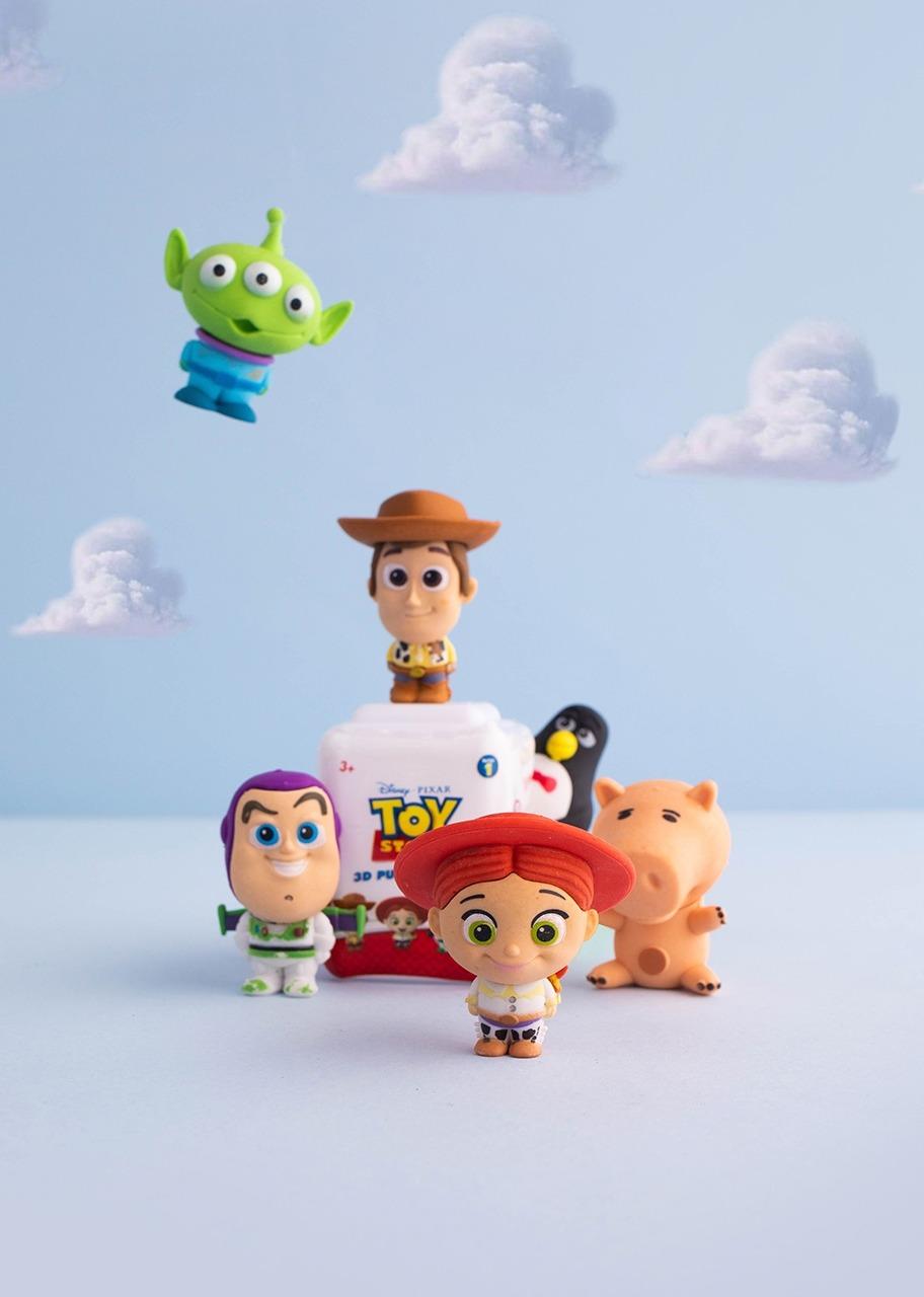 Imagen para Set De Borradores Rompecabezas Toy Story - 1