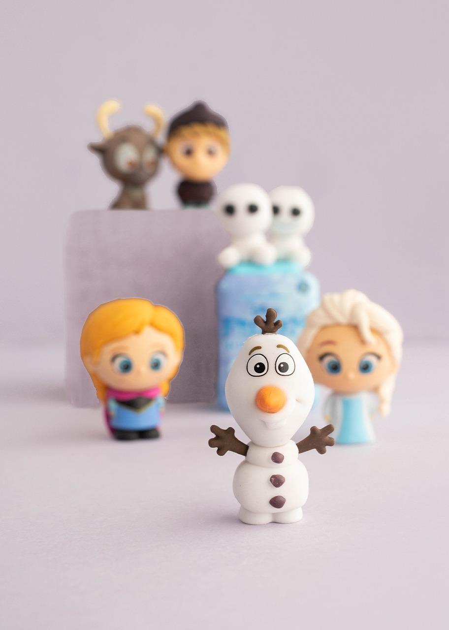 Imagen para Set De Borradores Rompecabezas Frozen - 1