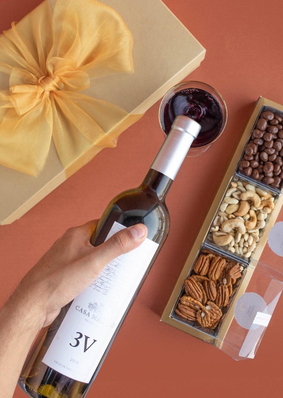 Imagen para Giftbox Vino Tinto 3V - 1