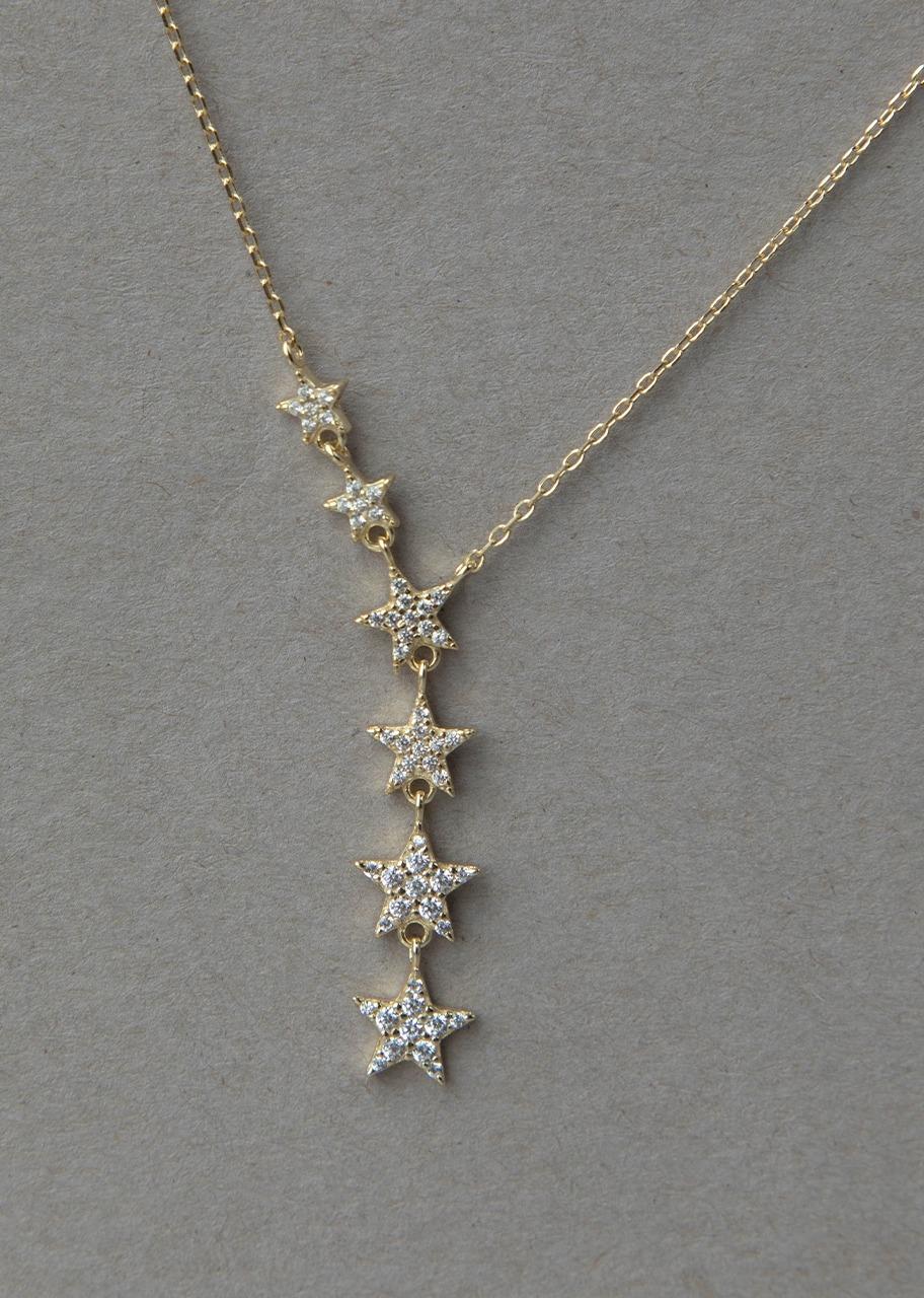 Imagen para Collar De Plata Rocamora Estrellas - 1
