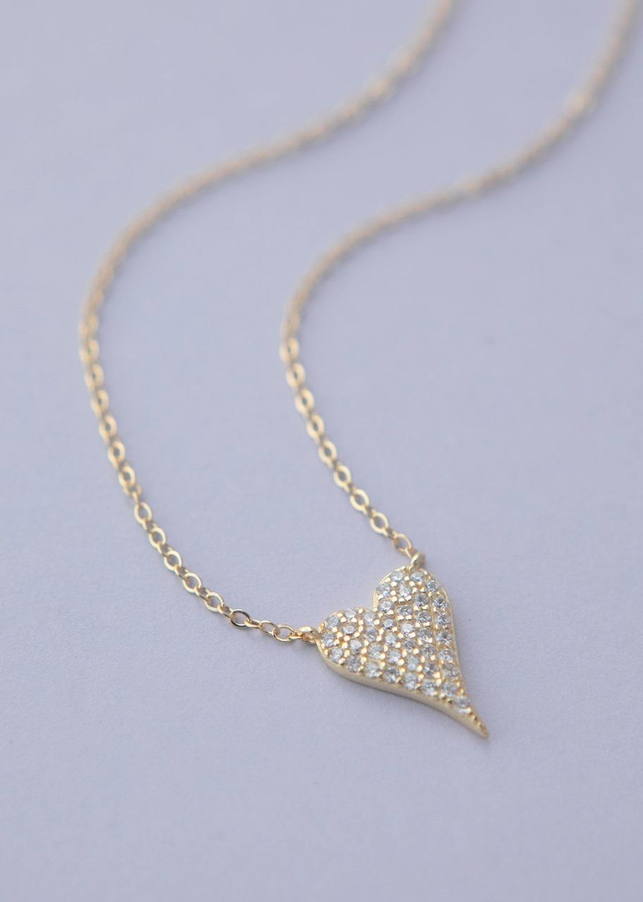 Imagen para Collar De Plata Rocamora Corazón - 1