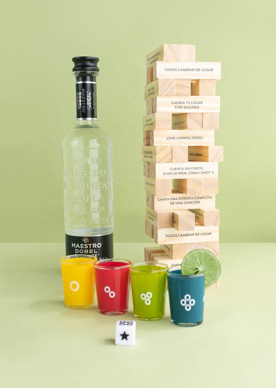 Imagen para Torre del Beber con Tequila Dobel - 1