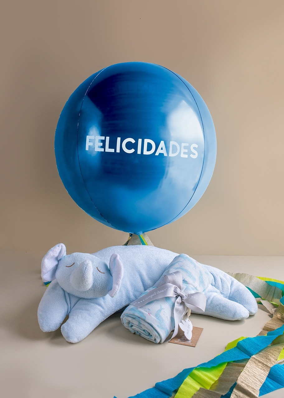 Imagen para Almohada y Colcha con Globo Felicidades - 1