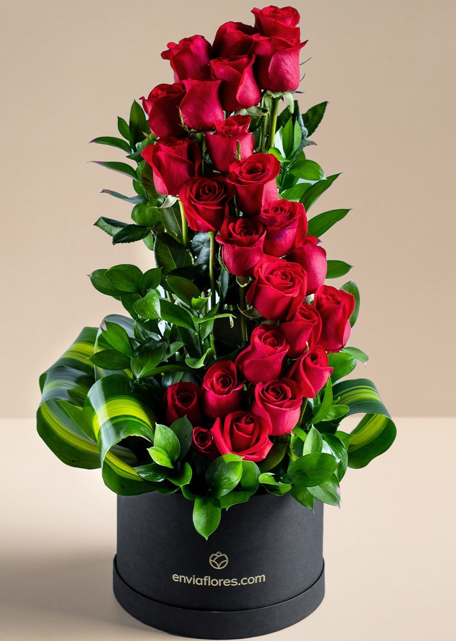 Imagen para Endless love with 24 Red Roses in a box - 1