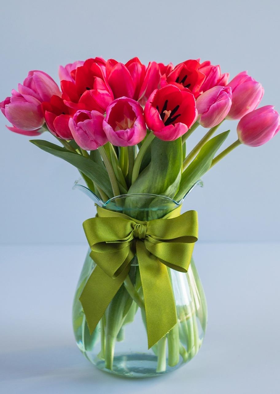 Imagen para Arreglo de 20 Tulipanes Combinados - 1