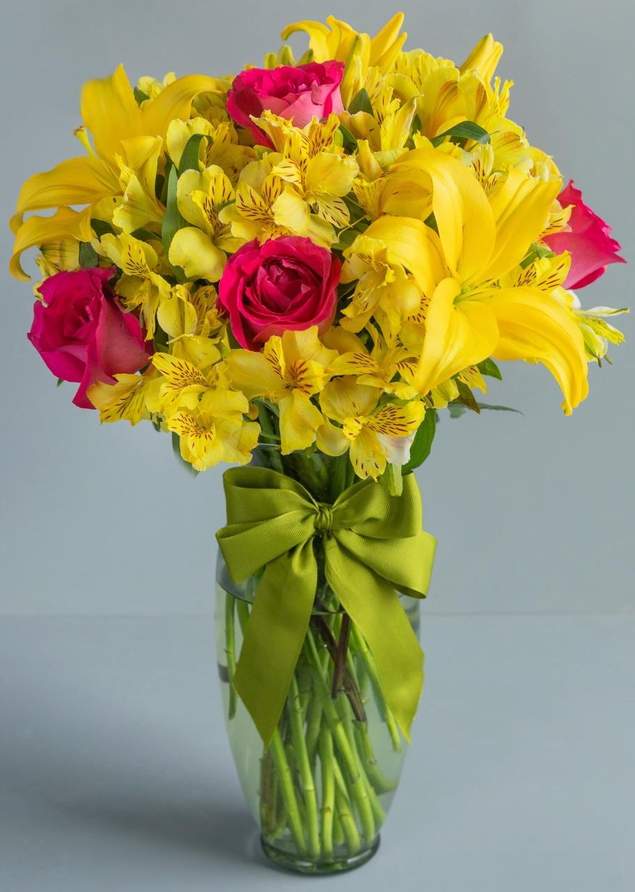 Imagen para Atardecer con Rosas y Lilys - 1