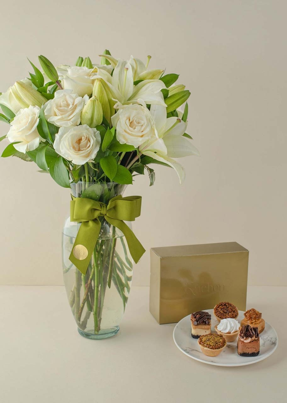 Imagen para Kuchen Bites with Peace of 12 Roses - 1