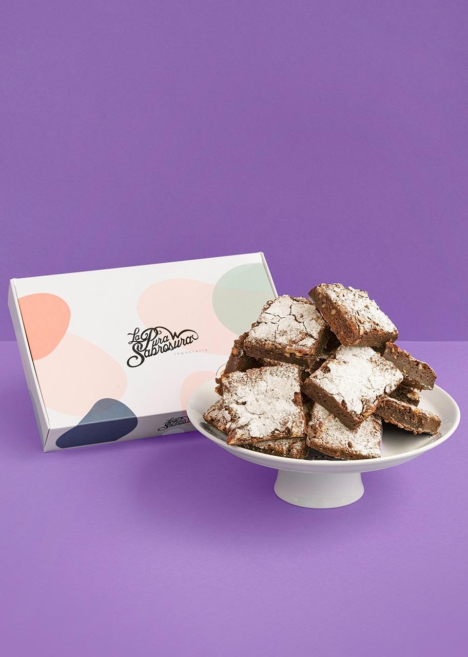 Imagen para Brownies Nutella 12 pz - 1