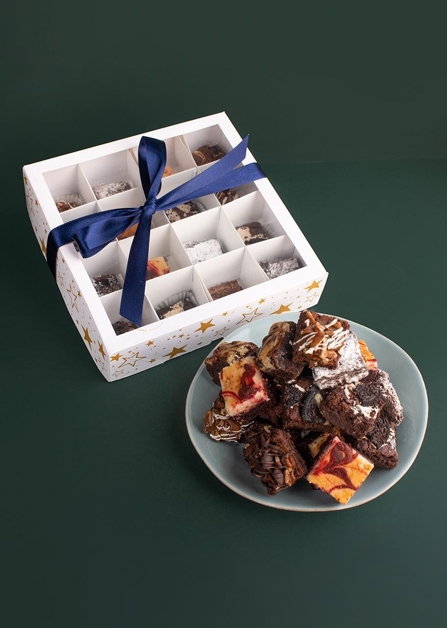 Imagen para Mini Brownies 15 pz La Divinata Navidad - 1