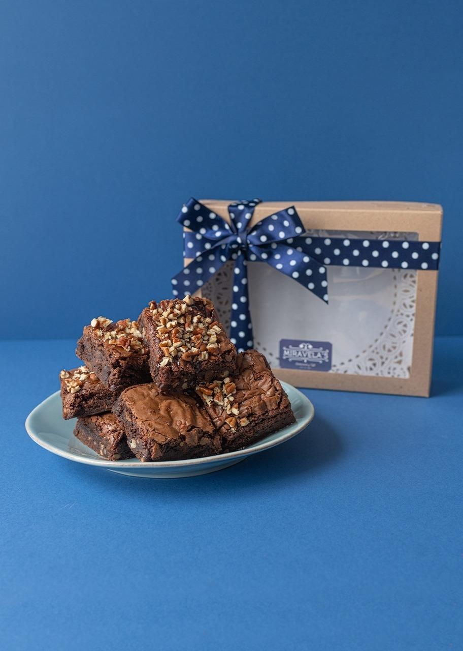 Imagen para Brownies 6 piezas Miravelas - 1