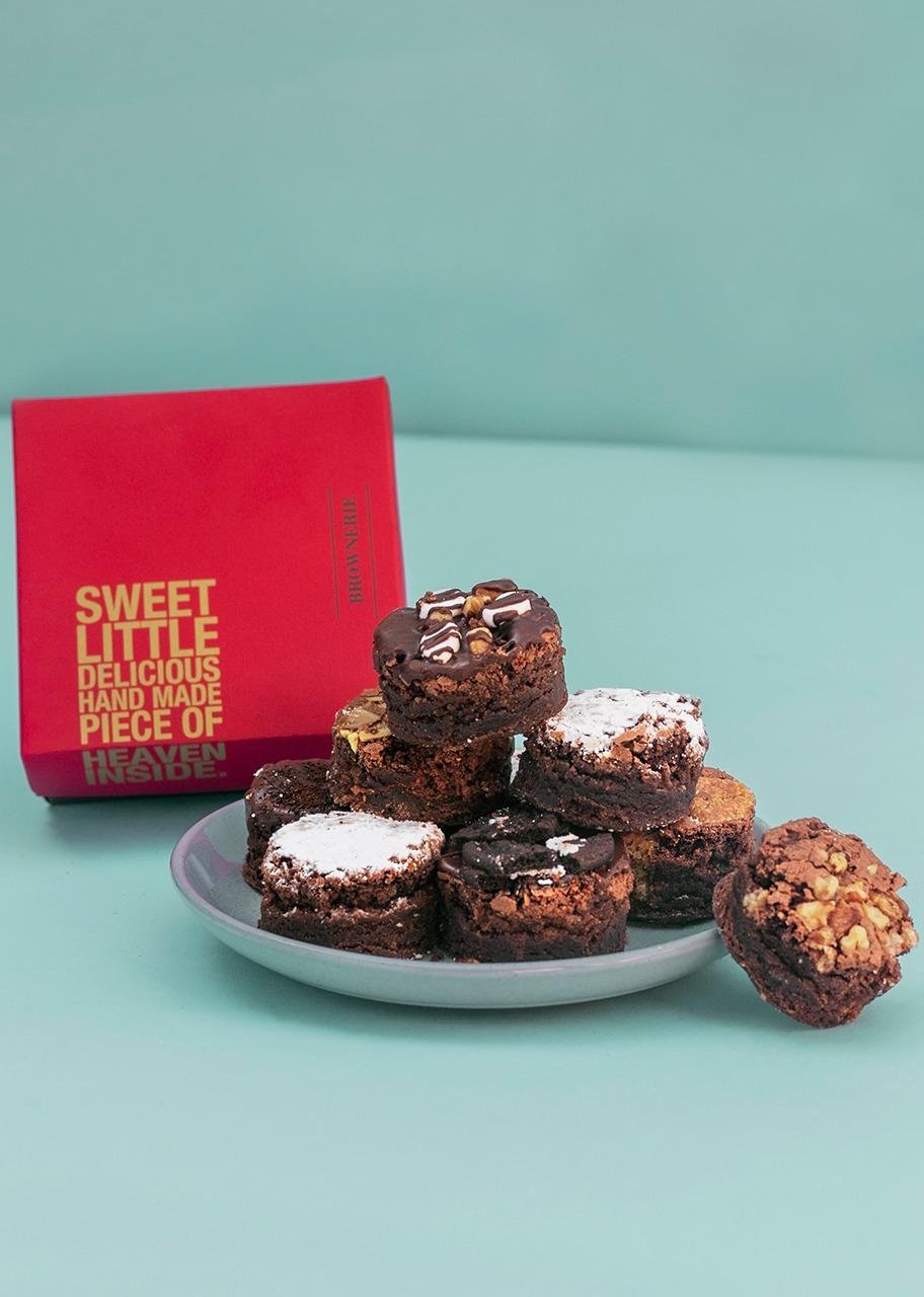 Imagen para Brownies 8 pz Brownerie - 1