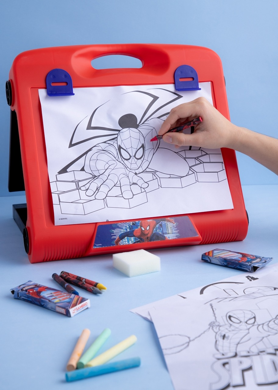 Imagen para Caballete De Arte Spiderman - 1