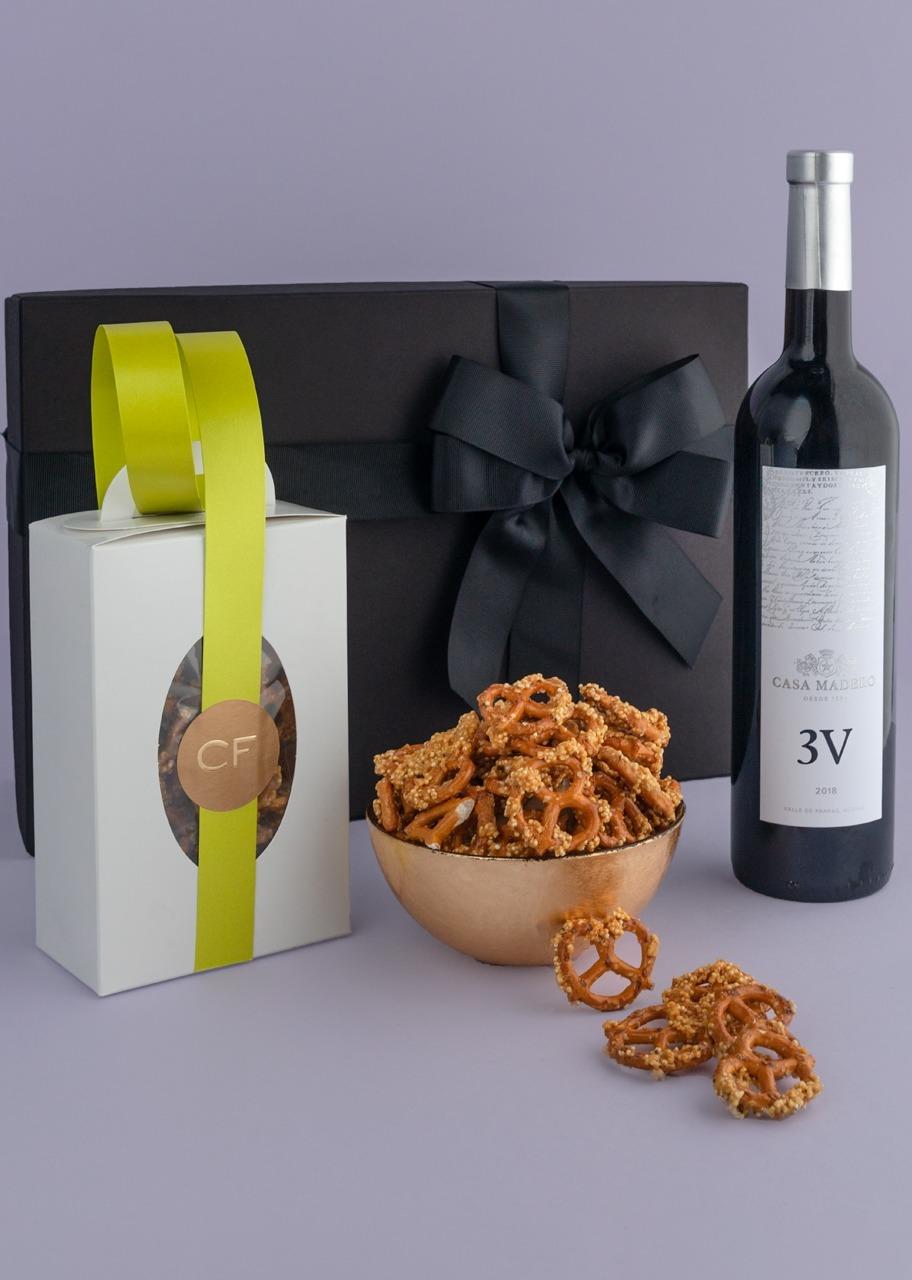 Imagen para Giftbox Vino 3V y Pretzels - 1