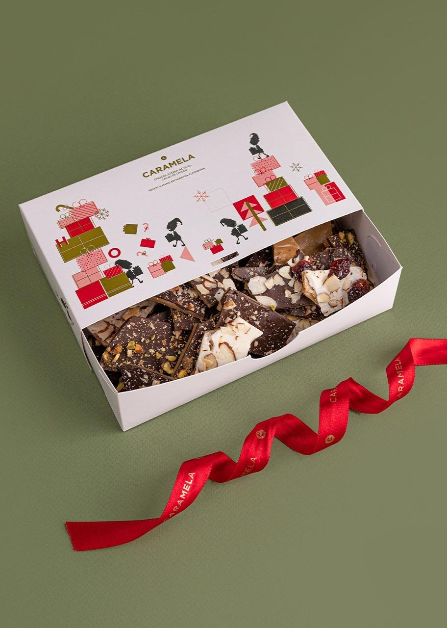 Imagen para Caja de Toffee Navidad Caramela 130 gr - 1