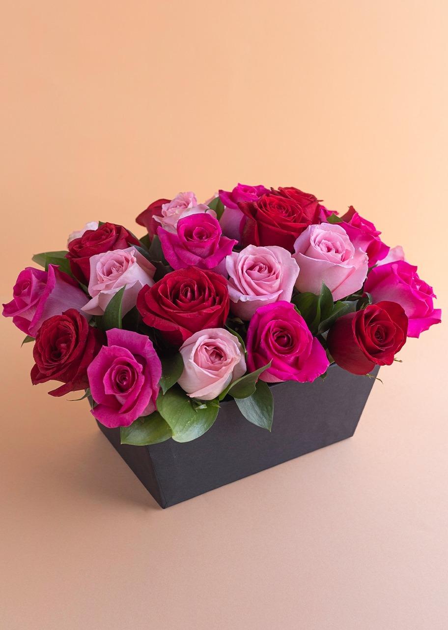 Imagen para Canasta 24 Rosas Dulces - 1