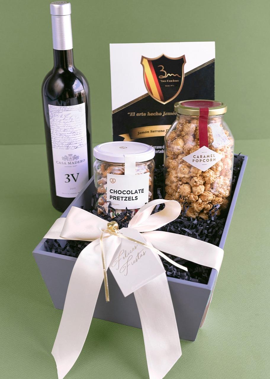 Imagen para Canasta Gourmet y Vino 3V - 1
