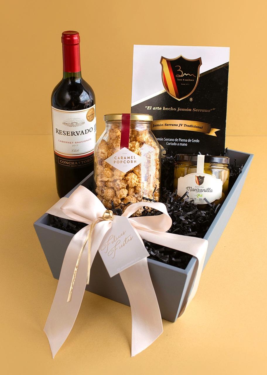 Imagen para Canasta Gourmet con Vino - 1