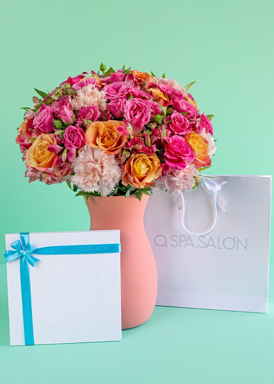 """Imagen para """"O."""" Facial Certificate with Roses and Mini Roses - 1"""