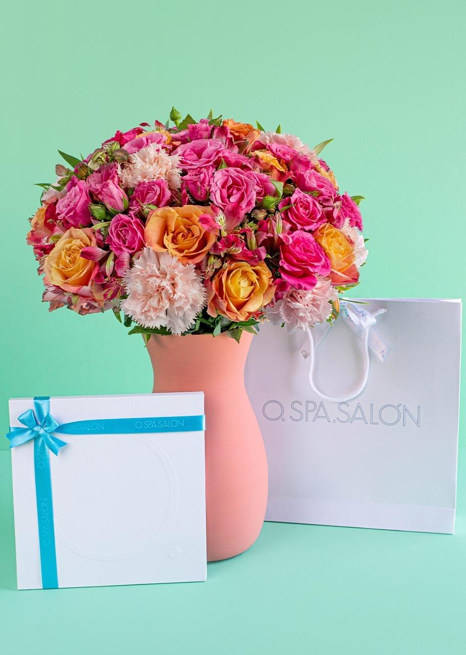 """Imagen para Certificado """"O."""" Facial con Rosas y Mini Rosas - 1"""