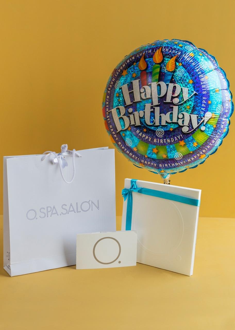 """Imagen para Certificado """"O"""". Masaje sueco con globo de feliz cumpleaños - 1"""