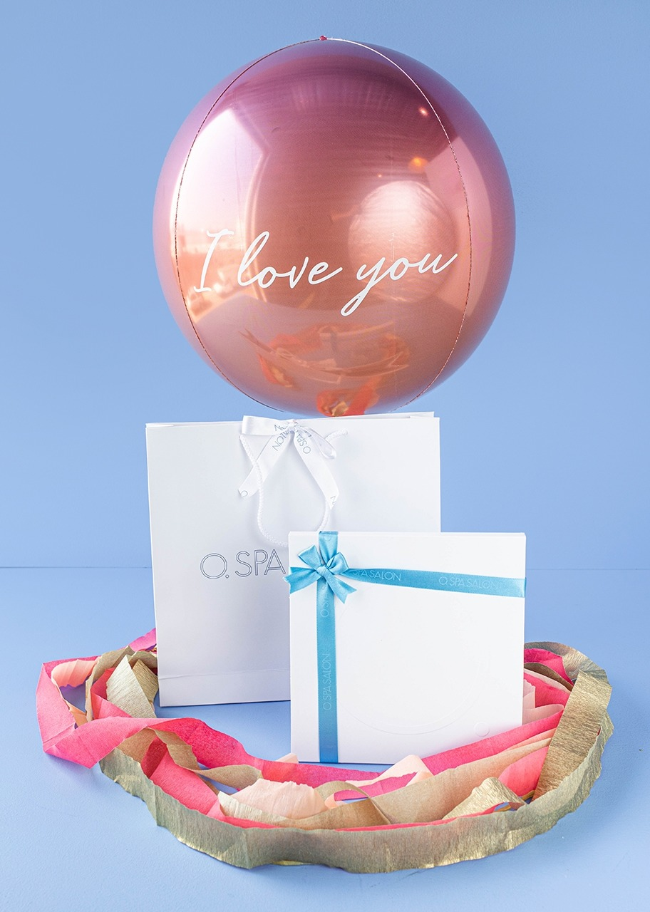 """Imagen para """"Certificate """"O."""" Swedish Massage and Spherical Balloon """"I love you"""" - 1"""
