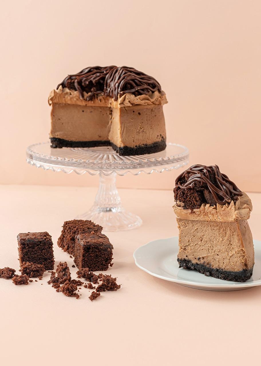 Imagen para Cheesecake de nutella con brownie Kuchen - 1