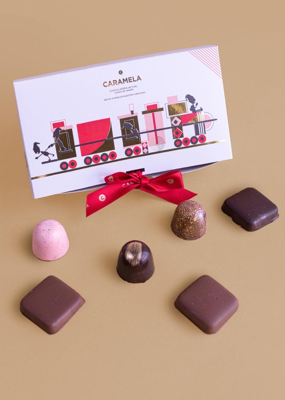 Imagen para 6 Christmas Gourmet chocolate candys - 1
